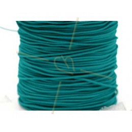 Elastic cord for hygienic masks 1.3mm Turquoise