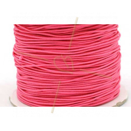 Elastic cord for hygienic masks 1.3mm Pink