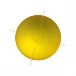 ronde strassbal 12mm indigo