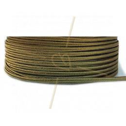 Soutache ribbon 3mm color Gold 42