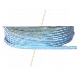 Soutache ribbon 3mm color White 1