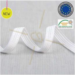 Elastic ribbon for hygienic masks 3mm White