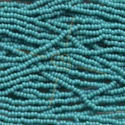 Rocaille Preciosa 11/0 Green Turquoise 63130