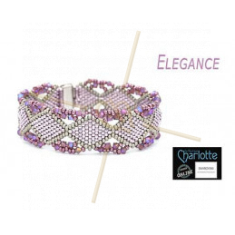 Kit Armband Elegance Spring Purple