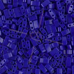 Half Tila Miyuki 5*2mm Blue Cobalt Opaque 414