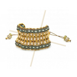 Kit Bracelet Mirthe Bronze Green