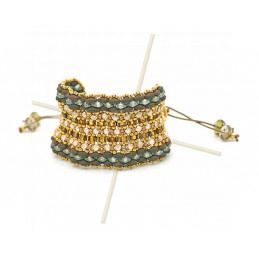 Kit Bracelet Mirthe Bronze Vert