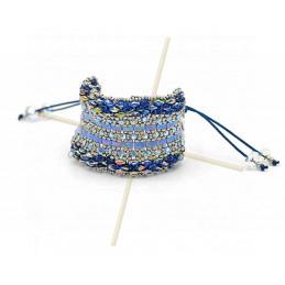 Kit armband Mirthe Blauw