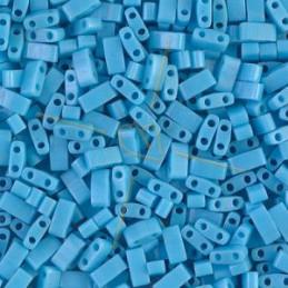 Half Tila Miyuki 5*2mm Turquoise Blue Opaque 413