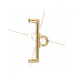 Cymbal Finding  - Topolia Ii - Delica - Eindstuk Gold Plated