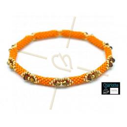 Bangle Bracelet Orange KumQuat