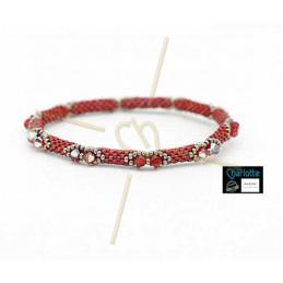 Bangle Bracelet Cranberry