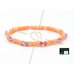 Kit Bangle Bracelet Luminous Creamsicle