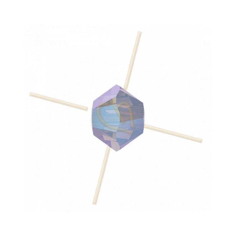 3mm White Opal SHIMMER 2X Swarovski Tolletje 234SHIM2