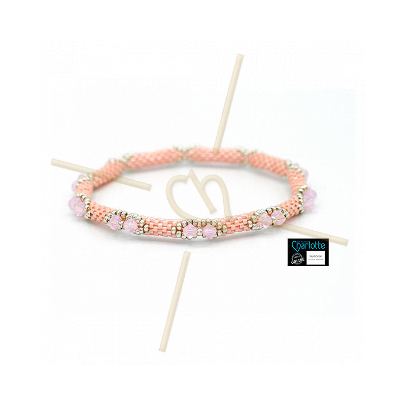 Kit Bangle Bracelet LumiPastel Pink Luster