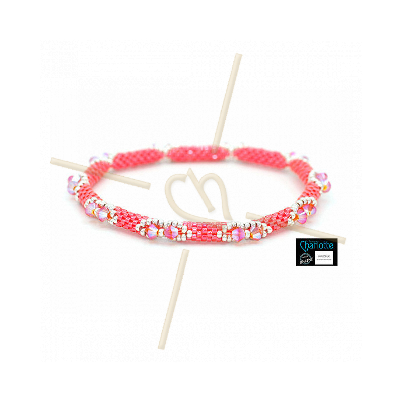 Kit Bangle Bracelet LumiPastel Poppy