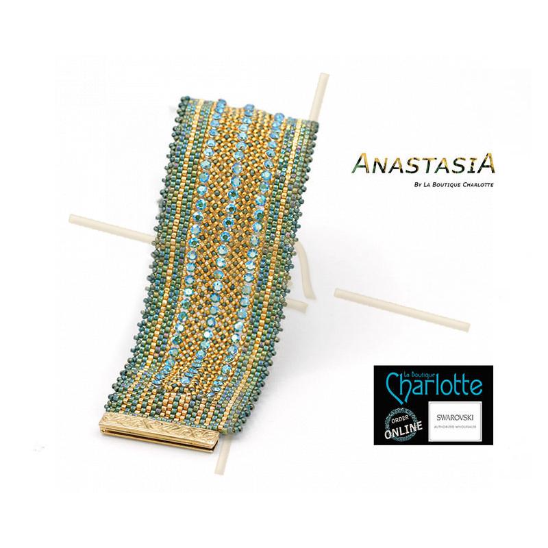 Kit Bracelet Anastasia Green Gold