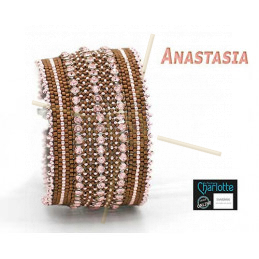 Kit armband Anastasia Rose Bronze