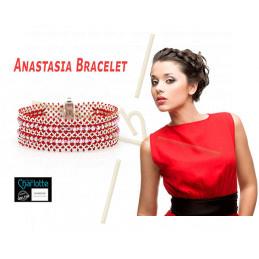 Kit armband Anastasia Rood