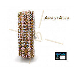 Kit Bracelet Anastasia Brun Rose small
