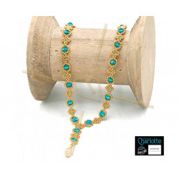 Necklace Julia Green gold