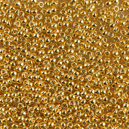 Rocaille 11/0 Miyuki Gold Plated 24kt