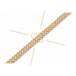 Swarovski Crystal Mesh 2-rijen Occre Delight 001L131D