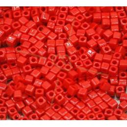 Miyuki Cube 1.8mm Dark Red Opaque 408