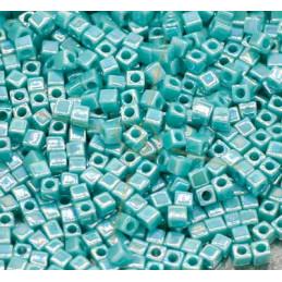 Miyuki Cube 1.8mm Turquoise Green Opaque