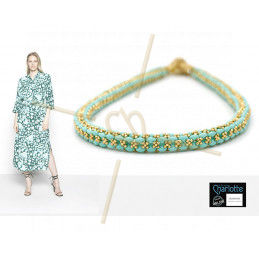 Kit Necklace Laura Turquoise