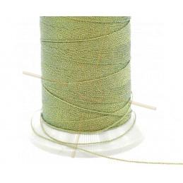 Thread Poly Metallic 0.8mm Green Gold Metallic