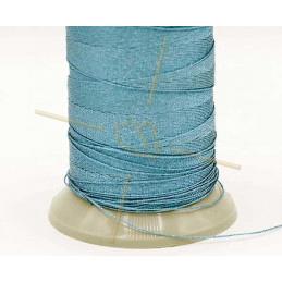 Thread Poly Metallic 0.8mm Blue Metallic