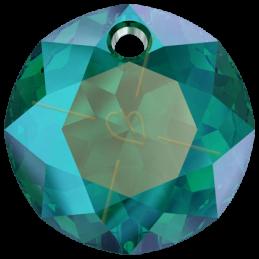 Swarovski pendant 6430 8mm Emerald Shimmer
