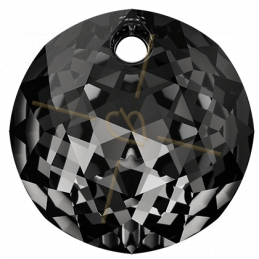 Swarovski pendant 6430 10mm Silver Night
