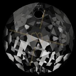 Swarovski pendentif 6430 10mm Silver Night