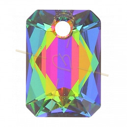 Pendant Swarovski 6435 16mm Vitrail Medium