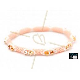 Kit Bangle Bracelet Peachy