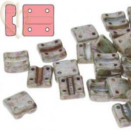Fixer bead Verticale gaatjes Chalk Blue Lazure