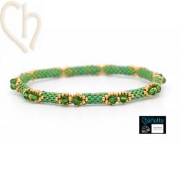 Kit Bangle armband Wild Green