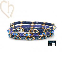 Trio Kits Bangle Bracelets 3 couleurs BlueBerry Hill