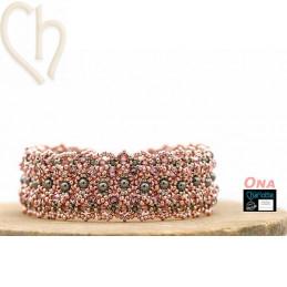 Kit bracelet Ona Galanised Pink