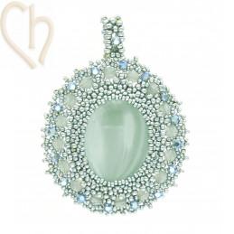 Hanger Camille Turquoise Groen