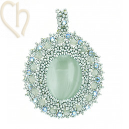 Pendant Camille Turquoise Groen
