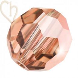 Preciosa Crystal Round Bead 4mm Capri Gold