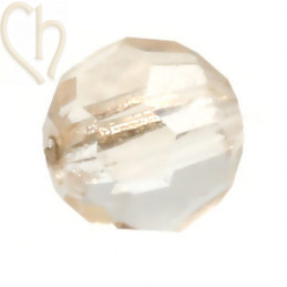Preciosa Crystal Round Bead 4mm Honey