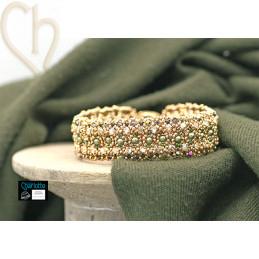 Kit bracelet Ona Gold Khaki