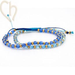2 Kits bracelet steel and...