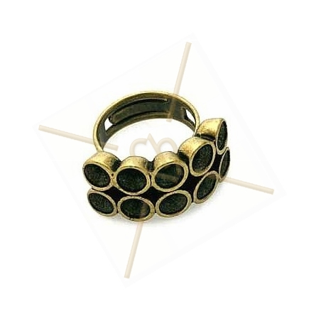 Ring for 10 strass pp24