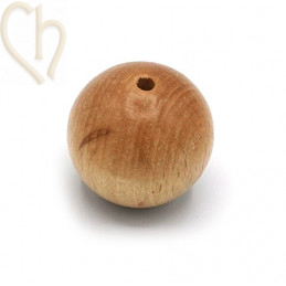 Wood ball 30mm Brown