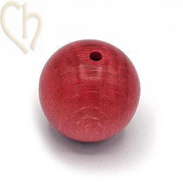 Wood ball 30mm Vintage Rose